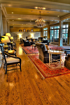 Photograph - The Sagamore Resort Lobby by David Patterson