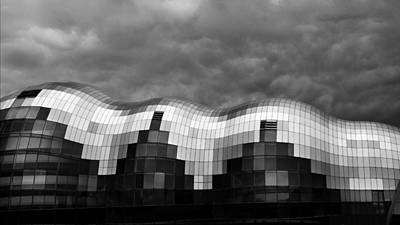 Photograph - The Sage Gateshead by Wayne Molyneux