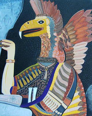 Ancient Professor  Original by Karen Serfinski