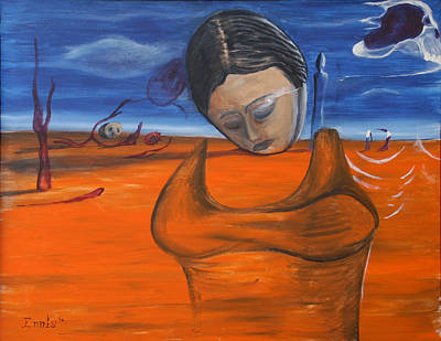 Painting - The Saharan Insomniac by Christophe Ennis