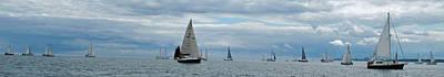 Photograph - The Sail Past by Ian  MacDonald