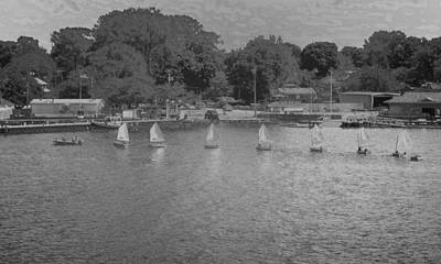 Photograph - The Sailing Class by Jodie Marie Anne Richardson Traugott          aka jm-ART