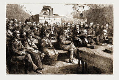 Switzerland Drawing - The Salvation Army In Switzerland The Trial Of Miss Booth by Litz Collection