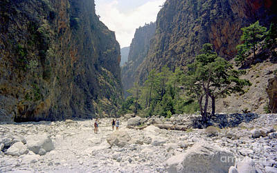 Photograph - The Samaria Gorge by Paul Cowan