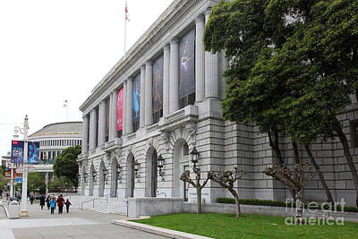 The San Francisco War Memorial Opera House - San Francisco Ballet 5d22485 Art Print