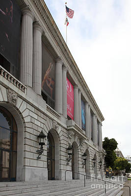 The San Francisco War Memorial Opera House - San Francisco Ballet 5d22585 Art Print