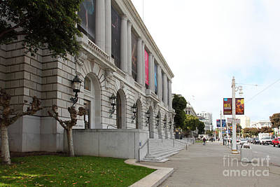 The San Francisco War Memorial Opera House - San Francisco Ballet 5d22586 Art Print