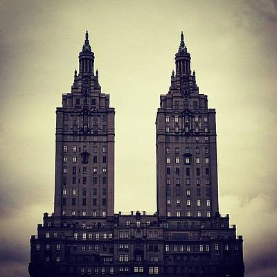 Instagramhub Photograph - The San Remo Bldg. - Ny (1930) by Joel Lopez