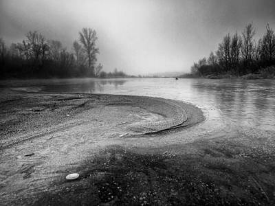 Winter Mornings Photograph - The Sands Of Time by Davorin Mance