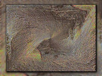 Wood Grain Digital Art - The Sands Of Time by Tim Allen