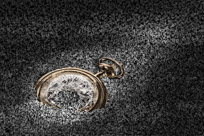 Conceptual Photograph - The Sands Of Time by Tom Mc Nemar