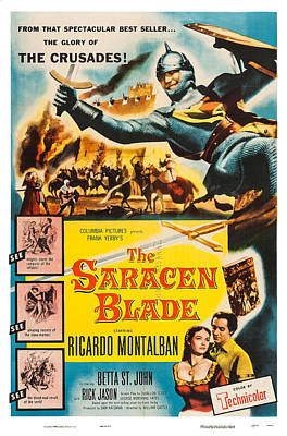 The Saracen Blade, Us Poster Art Art Print by Everett
