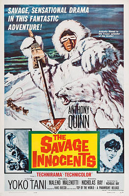 The Savage Innocents, Us Poster Art Art Print