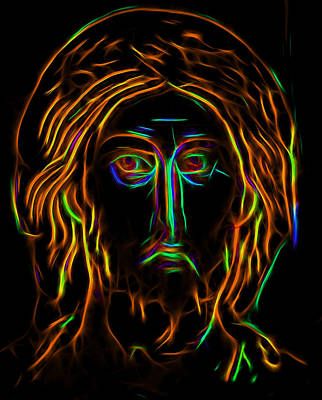 Jesus Christ Icon Digital Art - The Savior 1 by Yury Malkov