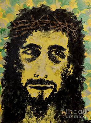 The Savior Art Print by Alys Caviness-Gober