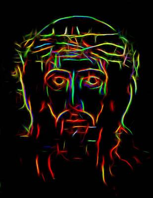 Jesus Christ Icon Digital Art - The Saviour by Yury Malkov