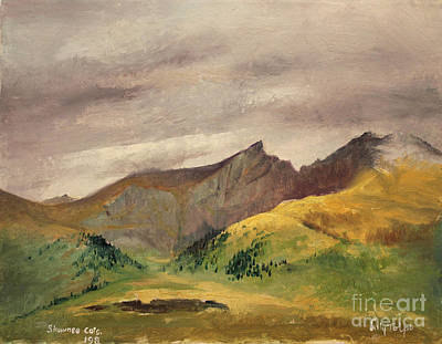 Painting - The Sawtooth - Colorado  by Art By Tolpo Collection