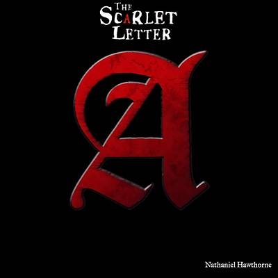 Book Title Digital Art - The Scarlet Letter by Dan Sproul