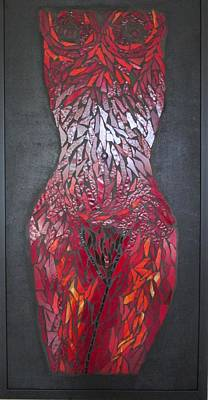 The Scarlet Woman Art Print by Alison Edwards