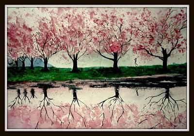 Etc. Painting - ...the Scene..... by Nitesh Kumar