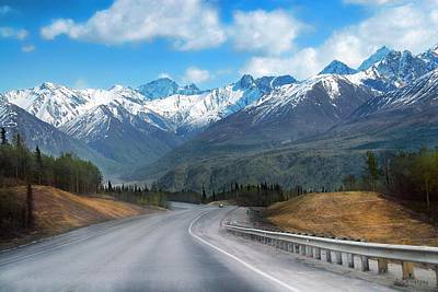 Photograph - The Scenic Glenn Highway  by Dyle   Warren