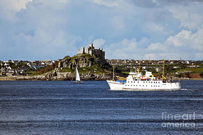 Photograph - The Scillonian Ferry Coming Home by Terri Waters