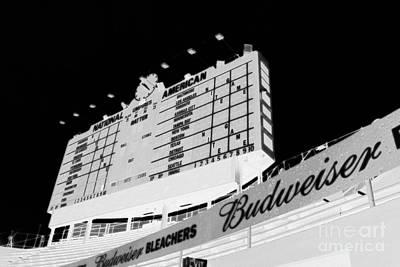 Photograph - The Scoreboard by David Bearden