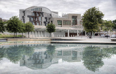 Photograph - The Scottish Parliament by Ross G Strachan