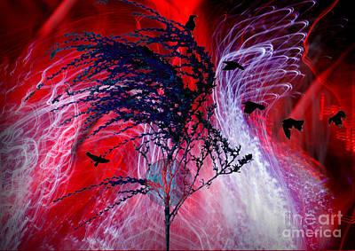 Digital Art - The Scream  by Angelika Drake