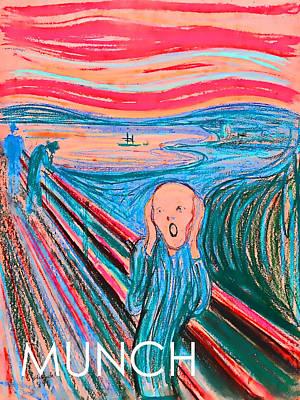 Photograph - The Scream by Carlos Diaz