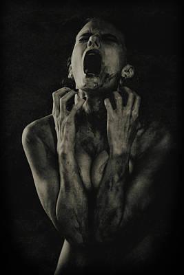 Nude Portraits Photograph - The Scream by Georgy Goryunov