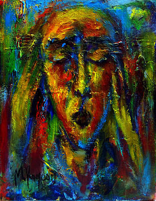 Painting - The Scream I by Marina R Burch