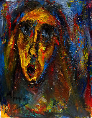 Painting - The Scream II by Marina R Burch