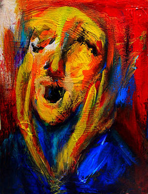 Painting - The Scream IIII by Marina R Burch