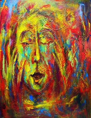 Painting - The Scream Iv  by Marina R Burch