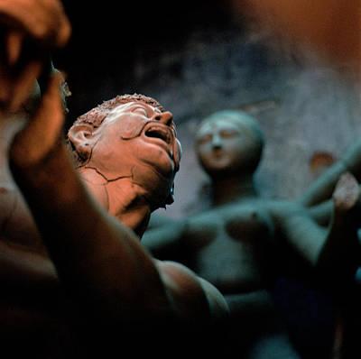 Goddess Durga Photograph - The Scream by Shaun Higson