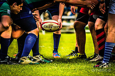 Photograph - The Scrum by George DeLisle