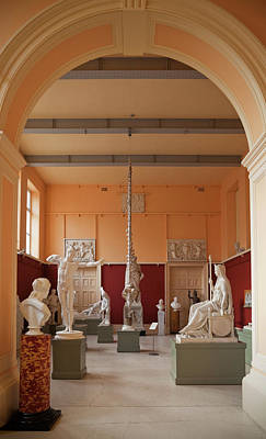 Reliefs Photograph - The Sculpture Gallery,interior by Panoramic Images
