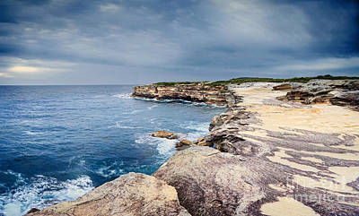Pasta Al Dente Royalty Free Images - The sea caves at Cape Solander Royalty-Free Image by Leah-Anne Thompson