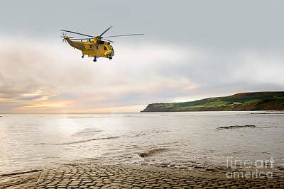 The Sea King  Art Print by J Biggadike