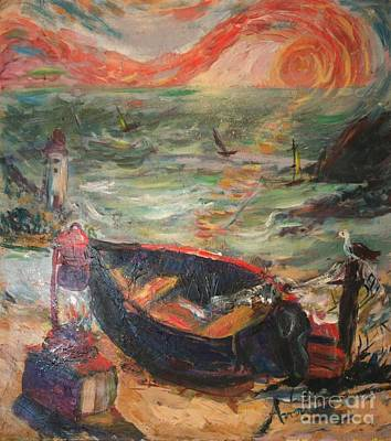 The Sea Of Cortez Art Print by Avonelle Kelsey