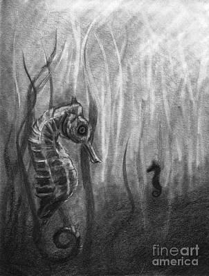 The Sea Spell Print by J Ferwerda