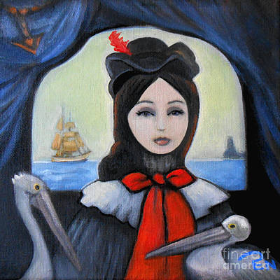 Indi Painting - The Seafarer by Life of Pen Artist