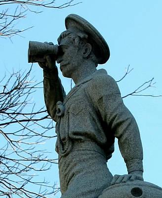 Naval Photograph - The Seaman Torso by Lesa Fine