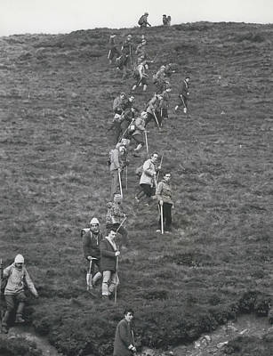 The Search For Bodies On The Moors Goes On Art Print by Retro Images Archive