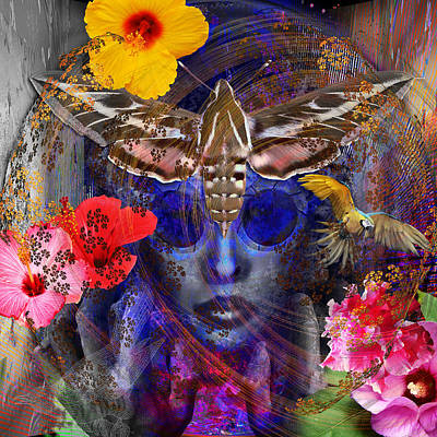The Search For Hibiscus Life Art Print
