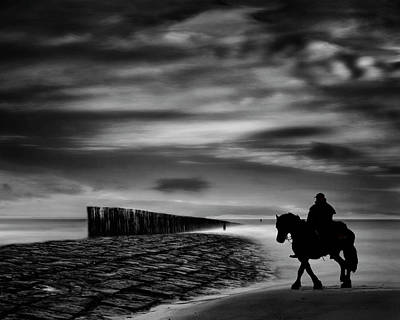 Netherlands Landscape Photograph - The Sea's Voice Speaks To The Soul ... by Yvette Depaepe