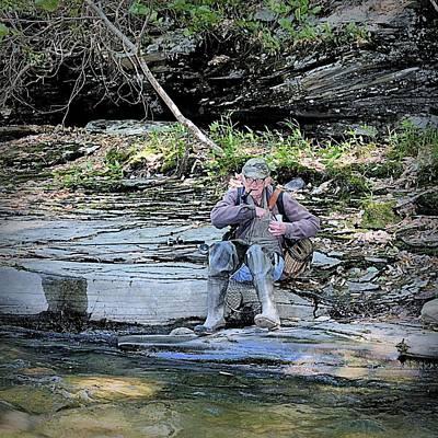 Photograph - The Seasoned American Fisherman by Joel E Blyler