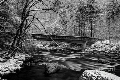 White River Scene Photograph - The Seasons Promise by Michael Eingle