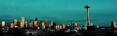 Photograph - The Seattle Skyline by Benjamin Yeager